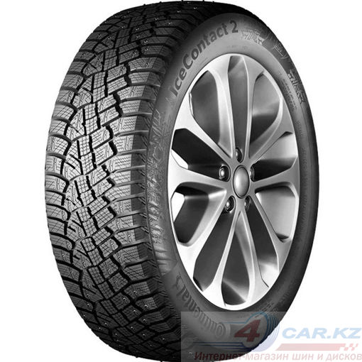 Шины CONTINENTAL Ice Contact 2 SUV 265/60 R18 114T